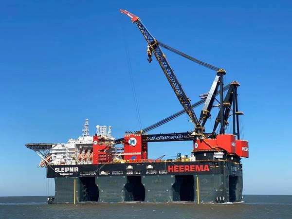 Sleipnir - Credit; Heerema Marine Contractors