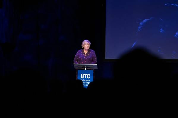 Erna Solberg, Prime Minister of Norway, at UTC 2019 (Photo: UTC2019_ManiMedia)