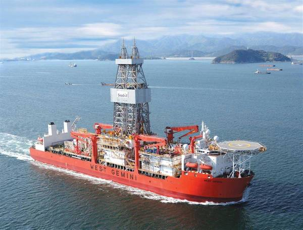 Part of the plan: Sonangol has partnered with Seadrill to form a 50:50 joint venture, Sonadrill, which will operate four drillships, focusing on opportunities in Angolan waters. (Photo: Seadrill)