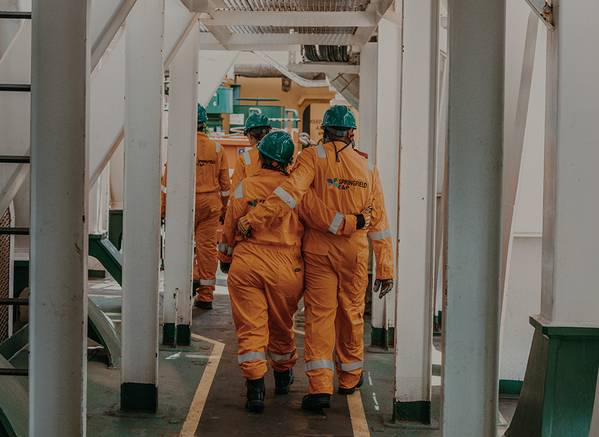 Springifeld workers on an offshore rig (File Photo: Springfield)