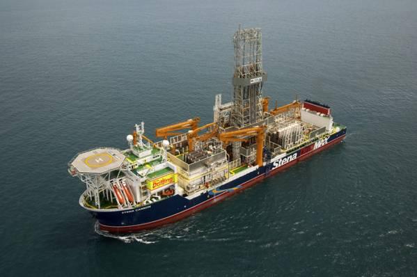 Stena Carron drillship - Credit: Stena Drilling