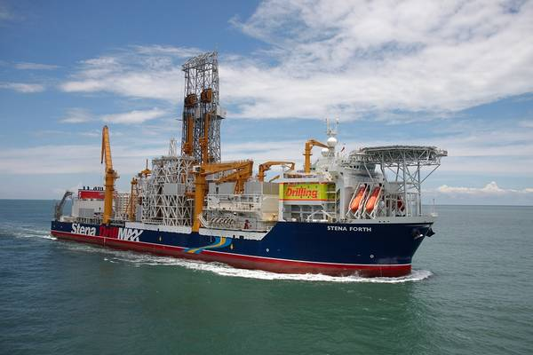 Stena Forth - Credit: Stena Drilling via Ratio Petroleum