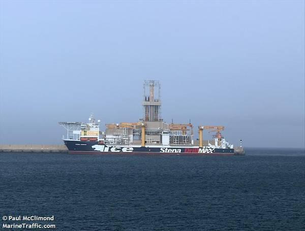 Stena IceMAX- Credit: Paul McClimond/MarineTraffic