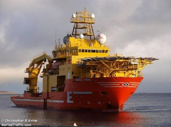 Subsea Viking - Image by Christopher R Irvine - MarineTraffic