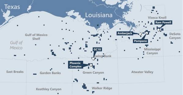 Talos Energy's Gulf of Mexico acreage - Credit: Talos Energy