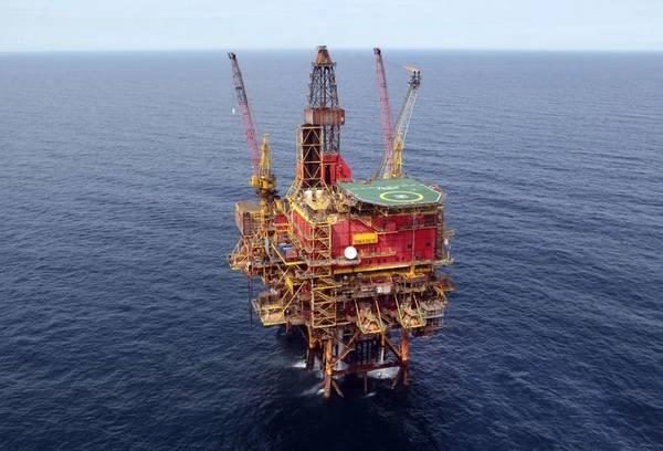 Taqa's Tern platform .- Image source: Taqa