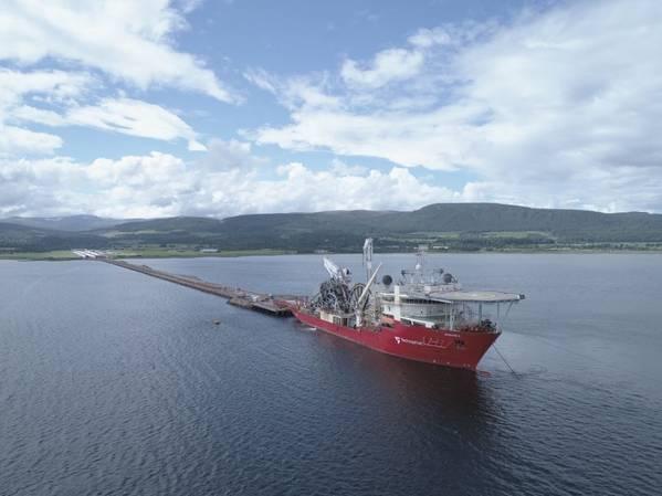 TechnipFMC's Apache II vessel - Credit: TechnipFMC