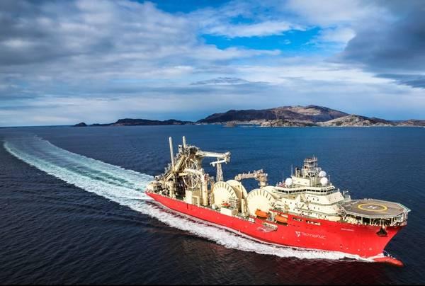 Technip's Deep Energy vessel - Credit: TechnipFMC