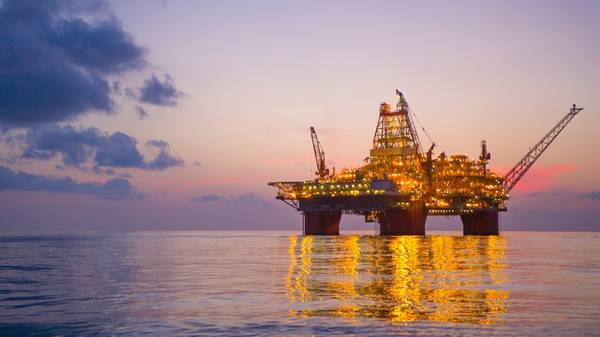 BP's Thunder Horse platform in the Gulf of Mexico (File photo: BP)