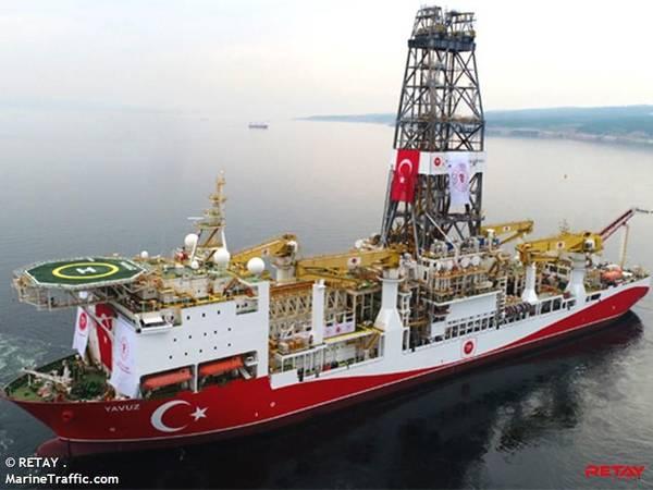 TPAO's Yavuz drillship - Credit:  RETAY . / MarineTraffic