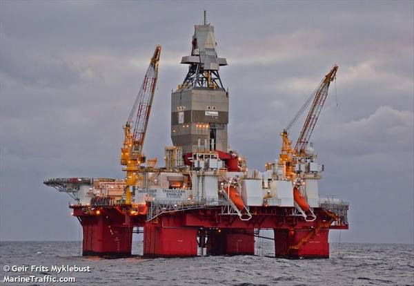 Transocean Enabler/ Image by Geir Frits Myklebust/MarineTraffic.Com