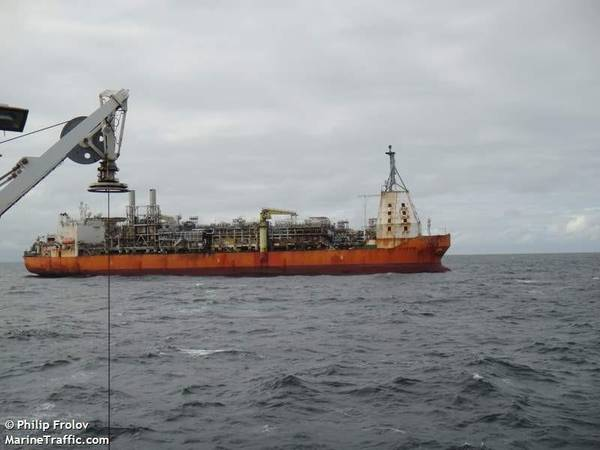 Triton FPSO - Image Credit: Philip Frolov/MarineTraffic.com