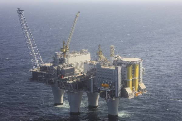 The Troll field in the North Sea has a widespread use of sand screens. (Photo: Harald Pettersen / Equinor)