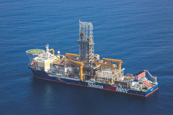 In 2019 Tullow Oil made two high-profile oil discoveries on the Orinduik block, opening a new Upper Tertiary oil play in the Guyana offshore basin. Joe-1 and Jethro-1 were drilled by drillship Stena Forth. (Photo: Tullow Oil)