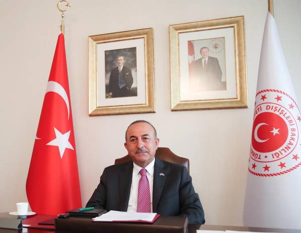 Turkey's Foreign Minister Mevlut Cavusoglu (File Photo: Turkish Foreign Ministry)