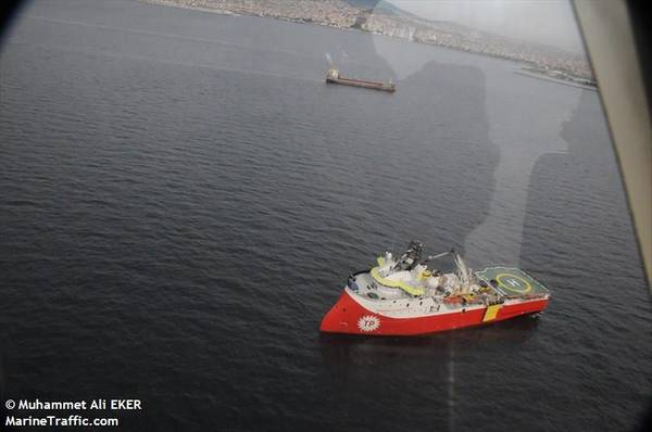 A Turkish seismic vessel - Credit: Muhammet Ali EKER