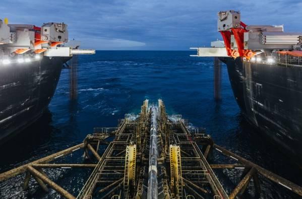 TurkStream pipeline installation (Photo: Gazprom)