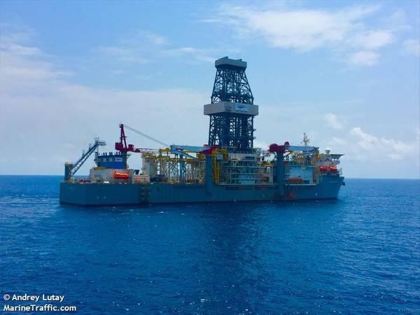 A Valaris drillship - Image by Andrey Lutay / MarineTraffic