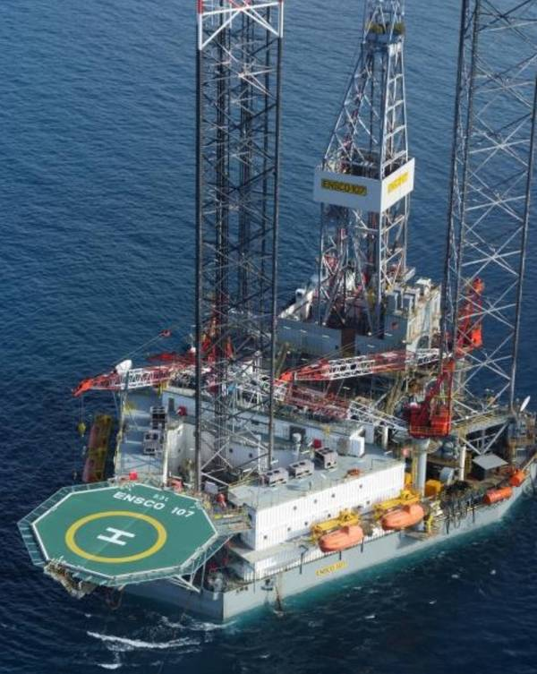 Valaris JU-107 - Credit: Carnarvon Petroleum