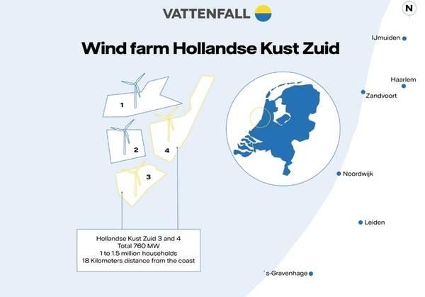 Map: Vattenfall