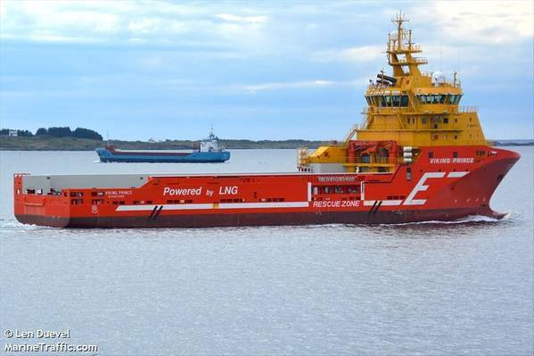 Aker BP Awards 100-day Contract for PSV Viking Prince