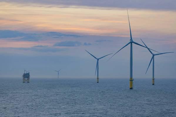 Walney Extension Offshore Wind Farm - Credit: Ørsted