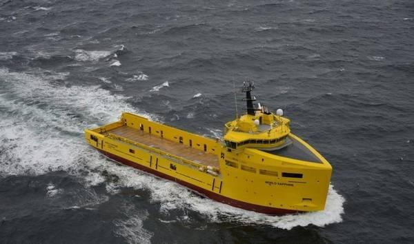 PSV World Sapphire. Image: Damen Shipyards