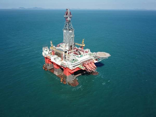West Mira will be the world's first drilling rig to operate a low-emission hybrid power plant using Siemens' lithium-ion energy storage solution. (Photo: Seadrill)