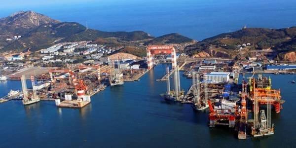 Yantai Construction Base. Image: Global Energy Ventures Ltd