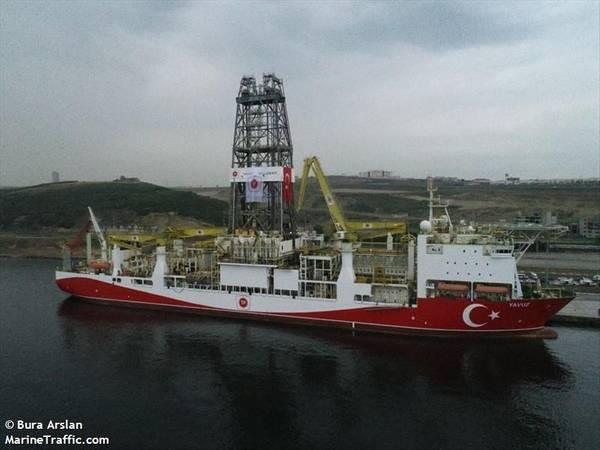 Yavuz Drillship - Image by Bura Arslan/MarineTraffic