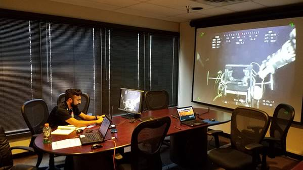Over the last 3 years, Zupt has completed jumper metrologies and placed spudding marker buoy sets via remote data collection and communication with the ROV team from their office in Houston.