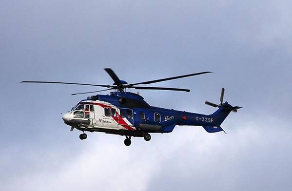 Απεικόνιση; Ένα ελικόπτερο Bristow / Εικόνα από την Colin Gregory / Flickr - CC BY 2.0
