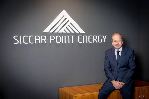 Διευθύνων Σύμβουλος της Siccar Point, Jonathan Roger (Φωτογραφία: Σημείο Siccar)