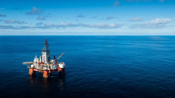 Η γεώτρηση Δυτικού Ηρακλή στη Θάλασσα του Μπάρεντς. (Φωτογραφία PFile: Ole Jørgen Bratland, Equinor)