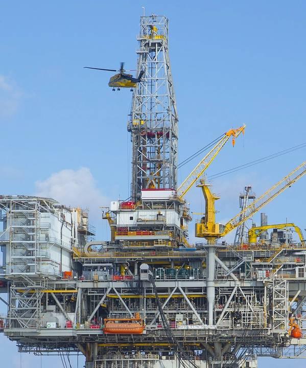 Файл фото: Платформа BP Mad Mad в Мексиканском заливе (Фото: BP)