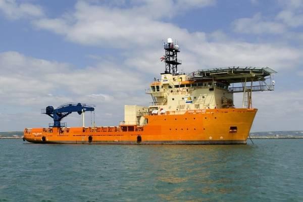 تمت إدارة Toisa Vigilant بواسطة GeoQuip Marine وتعمل حاليًا في أبردين في الخارج على العمليات الجيوتقنية (الصورة: GeoQuip Marine)