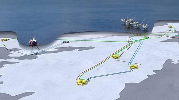 يوهان سفيردروب تخطيط البحر (الصورة: Equinor)