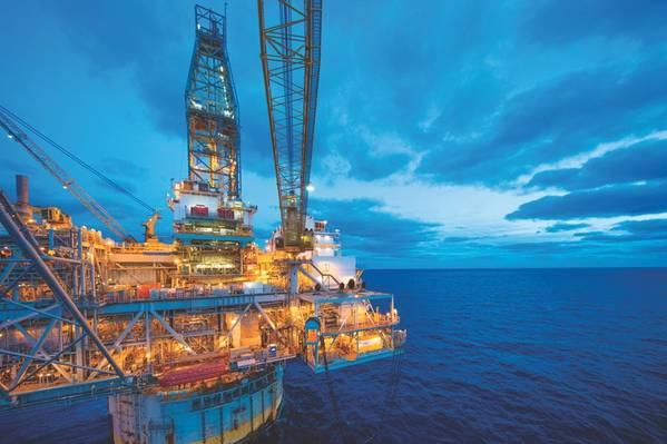 メキシコ湾にあるBPのMad Dog深海生産拠点は、2005年以来稼働しています。(出典:BP)
