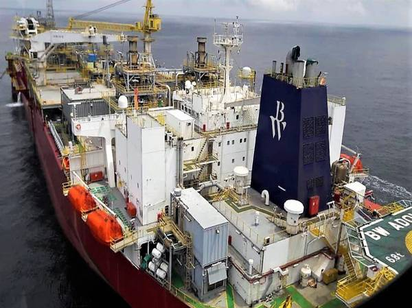 发展速度:BW海上FPSO(照片:BW Offshore)