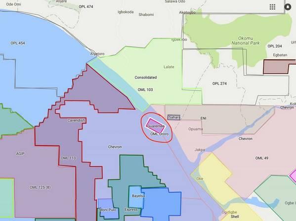 尼日利亚Ororo油田的一部分,天狼星石油公司推迟了延迟的Ororo-2气井的钻探。 (图片:基金经理)