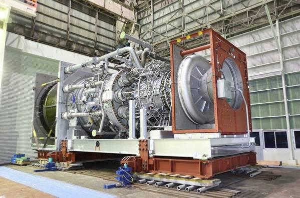 東アフリカLNGの限界:三菱重工のタービン(写真:三菱重工)