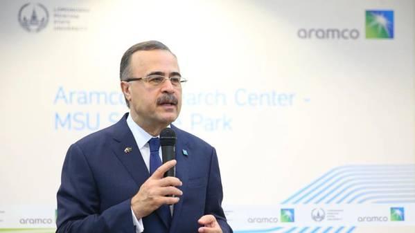 沙特阿美公司首席执行官Amin Nasser(照片:沙特阿美公司)