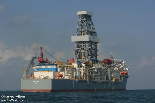 瓦拉里斯(Valaris)DS-8(以前称为Ensco DS-8)-信用:哈维·威尔逊(Harvey Wilson)-MarineTraffic