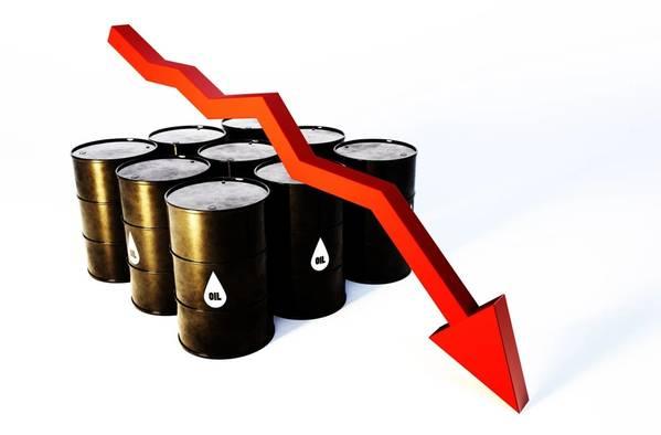 石油价格损失了四分之一以上,周一设定为自第一次海湾战争以来最大的每日溃败-插画;马尔普-AdobeStock