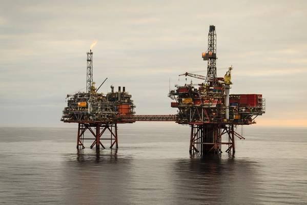 英国北海の船長(写真:シェブロン)