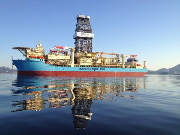 马士基航海家号钻井船-图片来源:马士基钻井公司