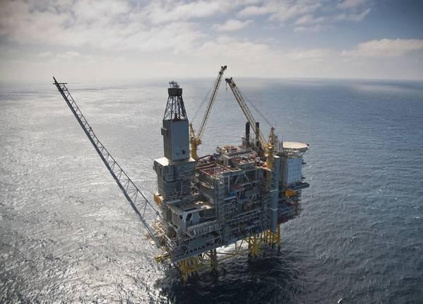 埃克森美孚公司在Equinor经营的Grane油田中的股份是VårEnergi以45亿美元收购的20多个股份之一。 (照片:ØyvindHagen / Equinor)