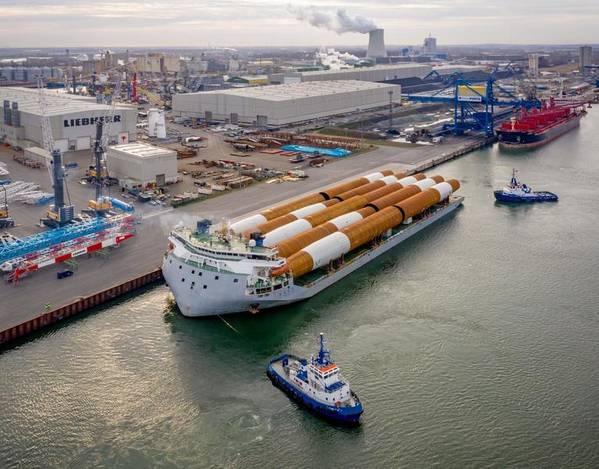 (Φωτογραφία: United Wind Logistics)