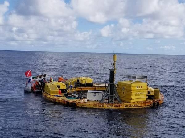 (الصورة: مركز المحيط الهادئ للطاقة البحرية)