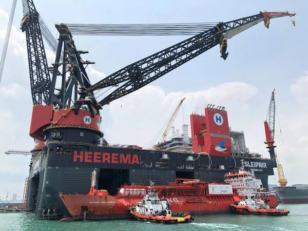 (Foto: Empreiteiros Marítimos Heerema)